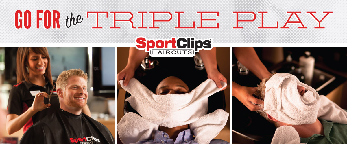 The Sport Clips Haircuts of Kearny Mesa  Triple Play
